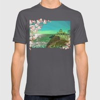 Giant Camera Mens Fitted Tee Asphalt SMALL
