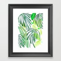 garden house Framed Art Print