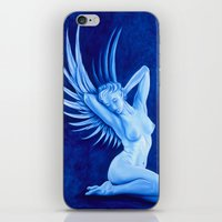 Blue Angel iPhone & iPod Skin