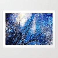 Wild Winter Art Print