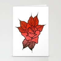 Faded Rose Stationery Cards