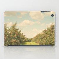 Allée De Pommes iPad Case