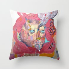 in my nature Throw Pillow