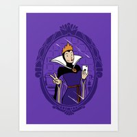 Mirror Mirror On The Wall #duckface Art Print