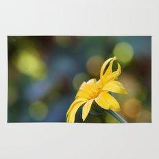 yellow flower II Rug