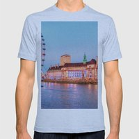 The London Eye Mens Fitted Tee Athletic Blue SMALL
