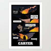 CARVER: Fire Walk With M… Art Print