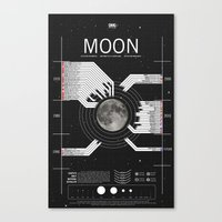 OMG SPACE: Moon 1970 - 2025 Canvas Print