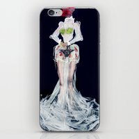 Lady Frog iPhone & iPod Skin