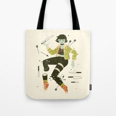 To Pieces Tote Bag