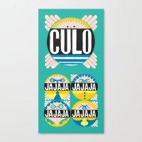 Culo Canvas Print
