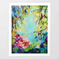 BLISS - Stunning Bold Co… Art Print