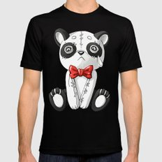 Panda Doll Mens Fitted Tee Black SMALL