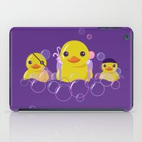 DANGERS OF THE BATHROOM iPad Case
