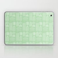 Birdcages (Green) Laptop & iPad Skin