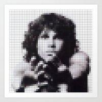JM Pixel Photo Art Print