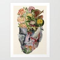 Mindfulness Anatomical C… Art Print