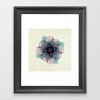 Devil's Flower Framed Art Print