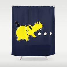 Waka Waka Hippos Shower Curtain