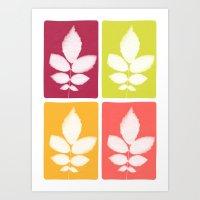 Color Block 4: Bold Art Print