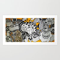 Born To Be Wild. Art Print