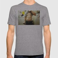 Ronn. Mens Fitted Tee Athletic Grey SMALL