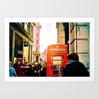 A London Telephonebooth Art Print