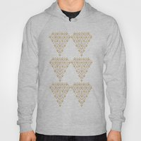 Geometric Diamond Hoody
