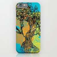 peacock tree iPhone 6 Slim Case