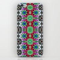 Hawaiian Garden 4 iPhone & iPod Skin