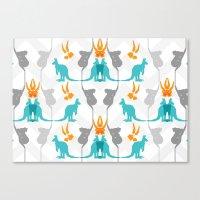 Koal-roo-gum Canvas Print