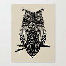 Owl of Cairo Canvas Print