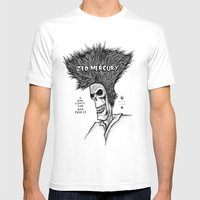 Zed Mercury Cramps Tribu… Mens Fitted Tee White SMALL