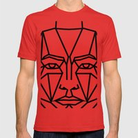 SMBB88 Mens Fitted Tee Red SMALL