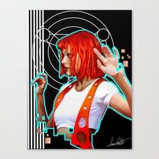 Leeloo Canvas Print