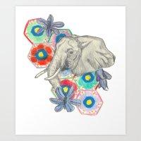 Elephanté Art Print