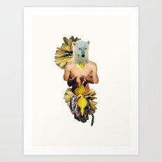 Sexy Polar Bear Art Print