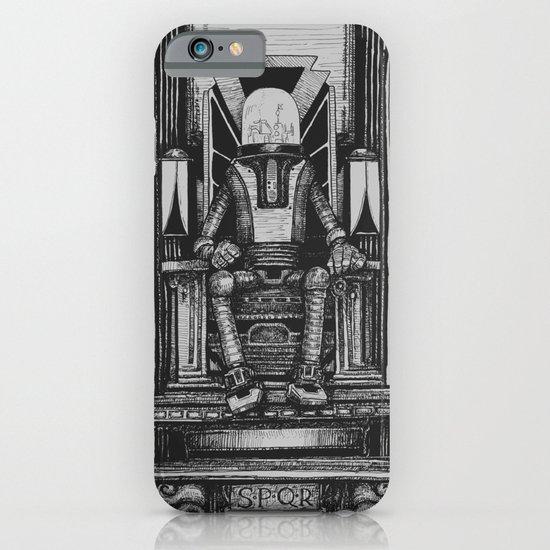Pax Robota - B&W iPhone & iPod Case