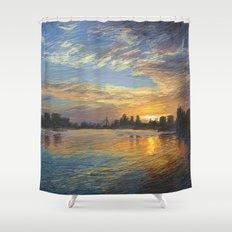 Esplanade 6 Shower Curtain