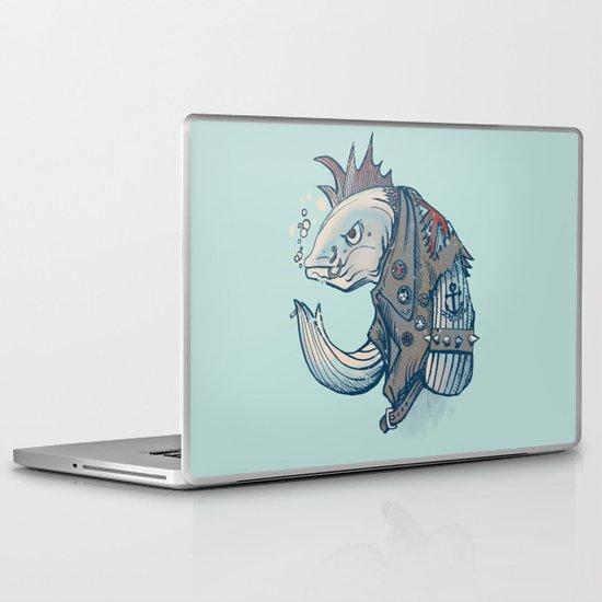 Punk Fish Laptop & iPad Skin
