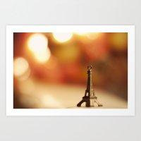 Paris Paris Art Print