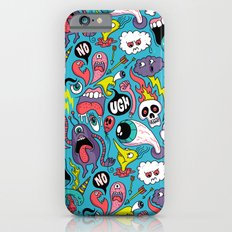 Doodled Pattern Slim Case iPhone 6s