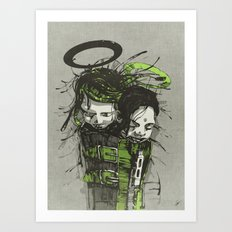 Big Sleep II. Art Print