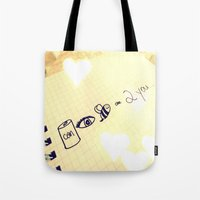 Can I Be Close To You Tote Bag