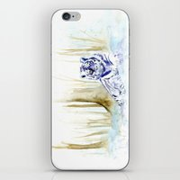 Frost Tiger iPhone & iPod Skin