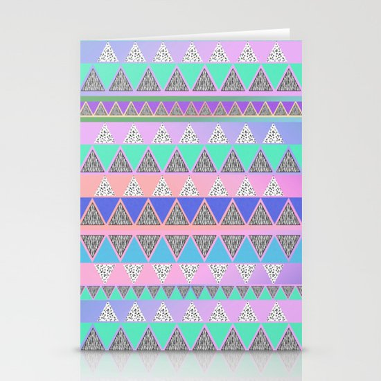Aztec Stationery Card