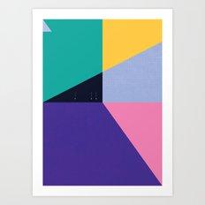 FLEECE, FOG, FARALLON 3 Art Print