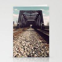 Train Bridge 2 Stationery Cards