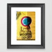 A Childhood Journey Betw… Framed Art Print
