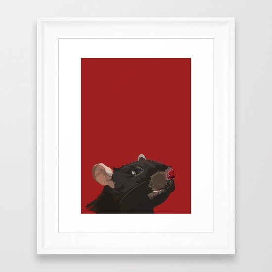 Rat Framed Art Print